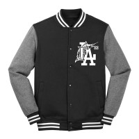 FLA Letterman Jacket_Black/Gray