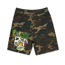 Florida Fruits Sweatshorts_Camo