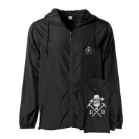 Miner Skull Windbreaker_Black